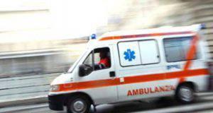 dramma marcianise ambulanza