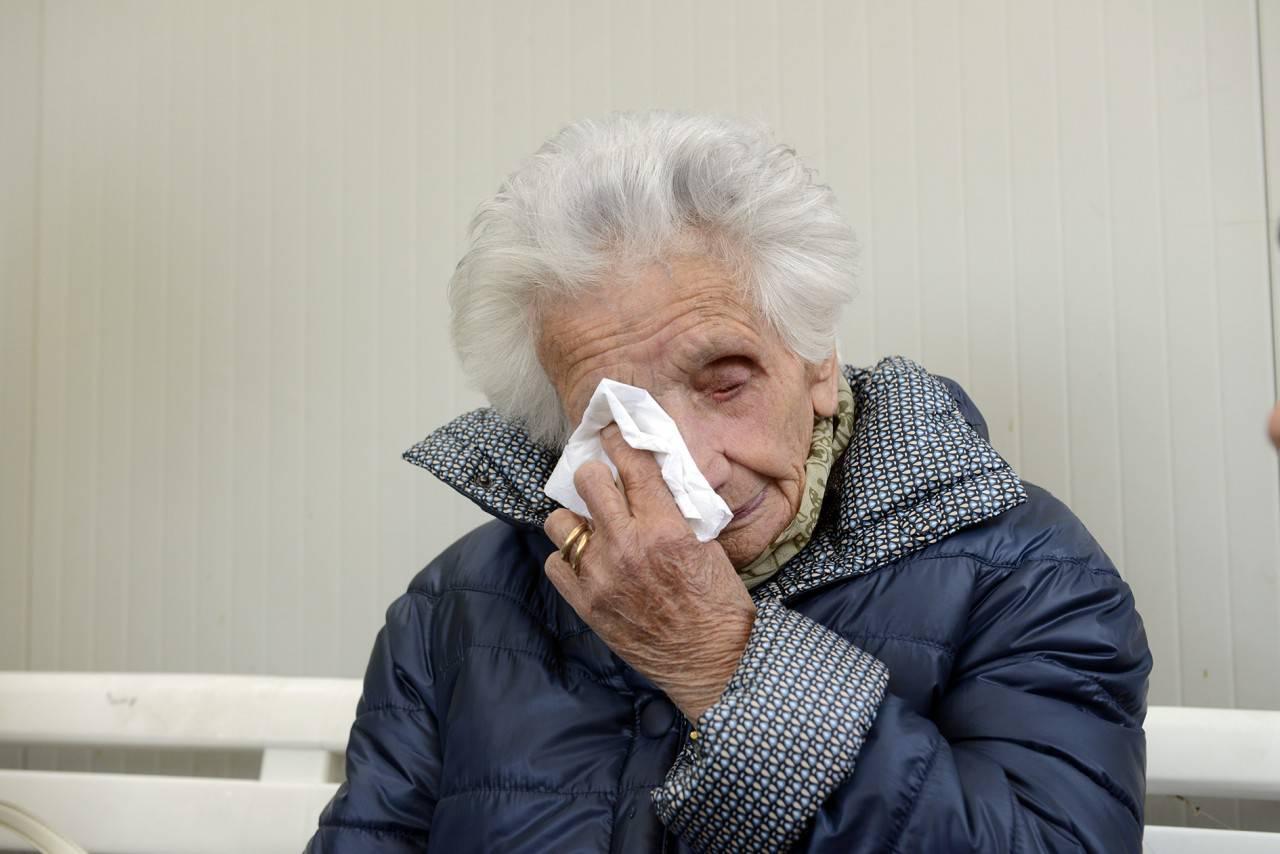 Fiastra, la 95enne Peppina lascia la casetta: