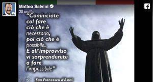 San Francesco Matteo Salvini