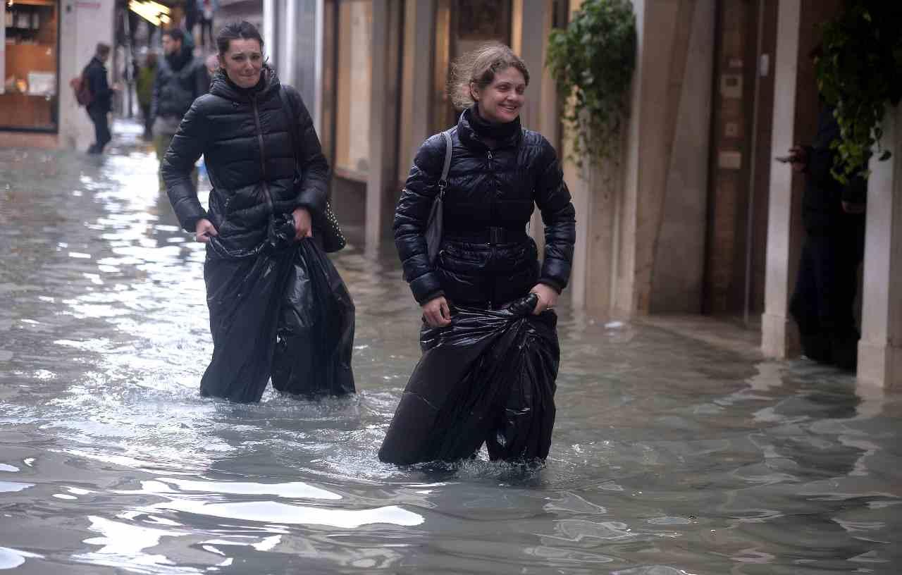 Venezia meteo acqua alta