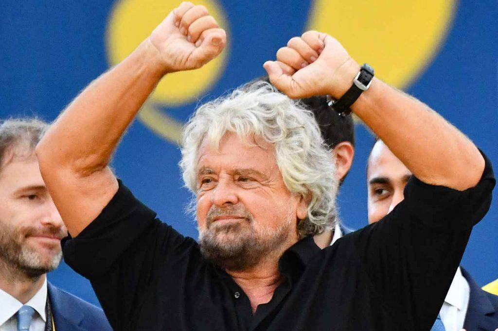Autostrade Beppe Grillo