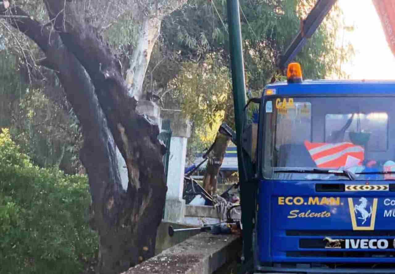 incidente Lecce