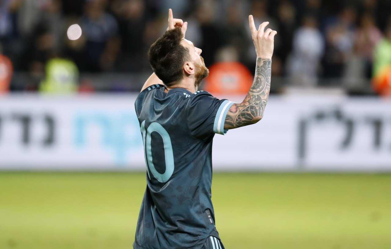 Messi Pallone d'Oro 2019
