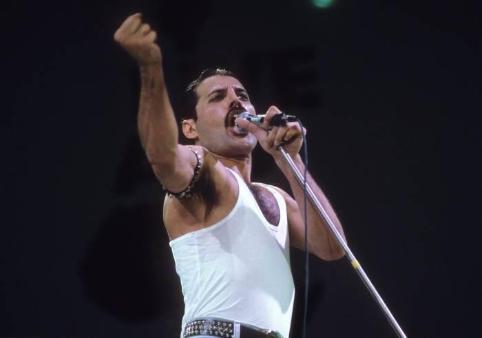 Freddie Mercury al Live Aid