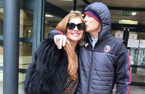 Mihalovic torna a casa con la moglie