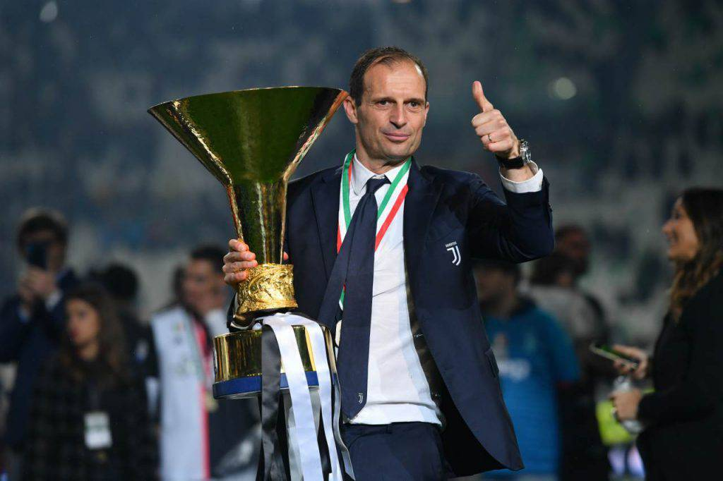 Massimiliano Allegri panchina
