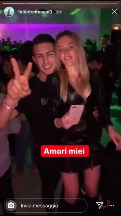 Matteo Voltolini in discoteca
