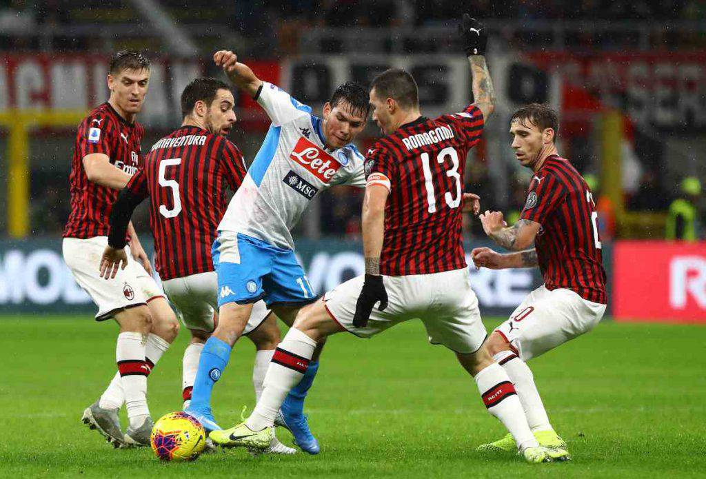 Milan-Napoli highlights