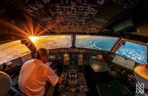 Pilota muore in cabina aereo