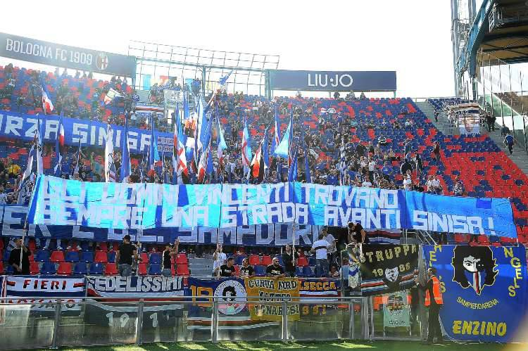 Mihajlovic omaggio tifosi