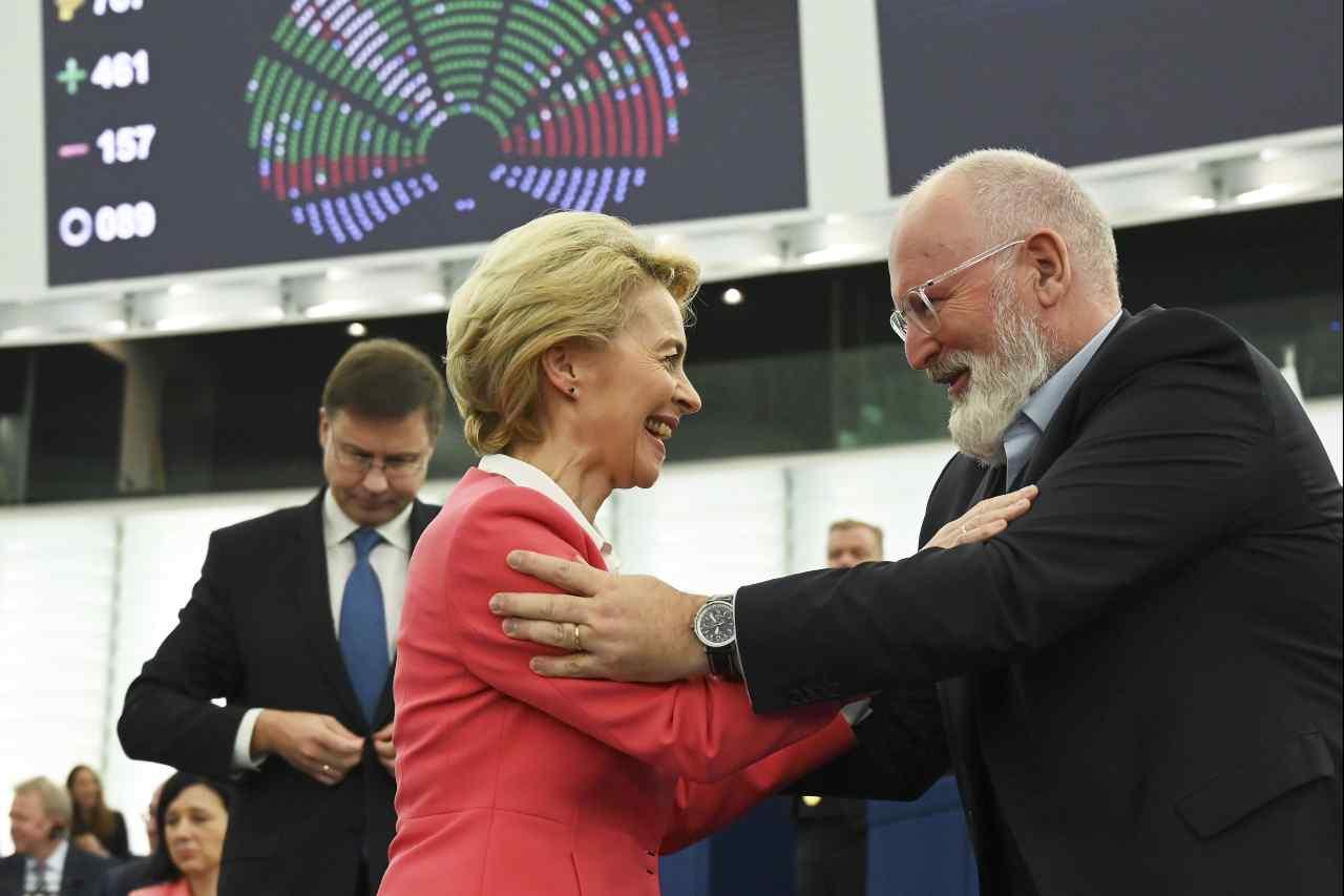 Ursula Von Der Leyen parlamento europeo