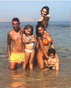 Guendalina Tavassi, la famiglia