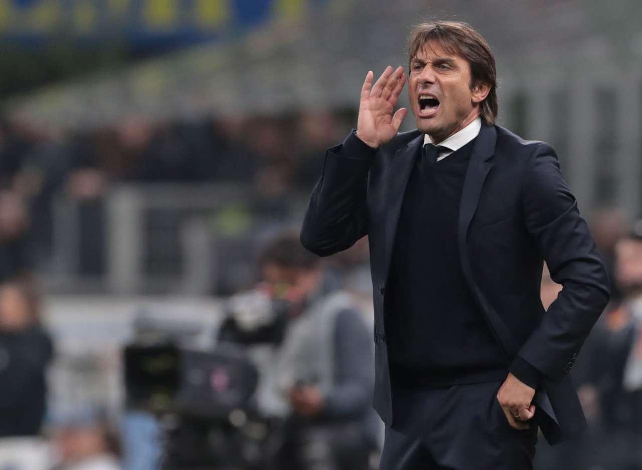 Antonio Conte, alla prima stagione alla guida dell'Inter