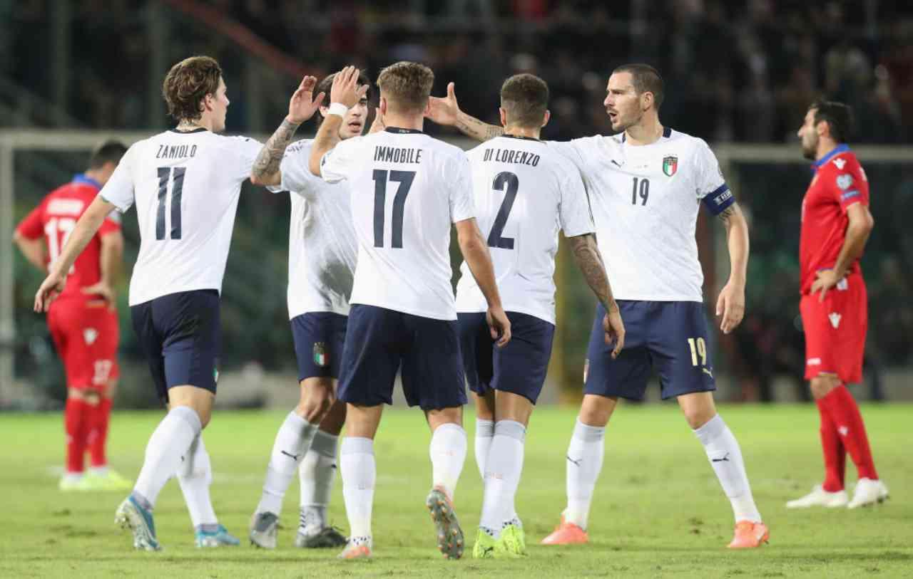 Italia, testa di serie Euro 2020