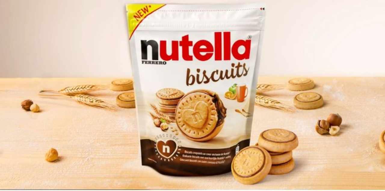 Nutella Biscuits a ruba