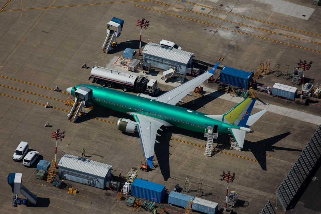 Boeing 737 Max, stop alla produzione nel 2020