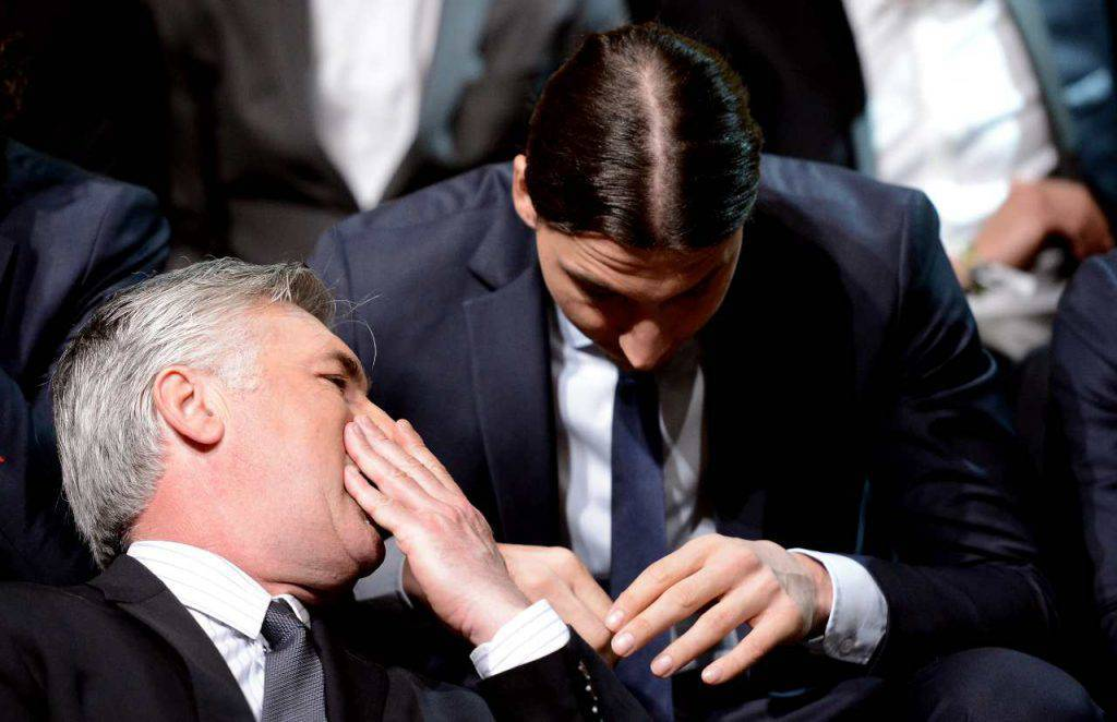 Ancelotti contatta Ibrahimovic