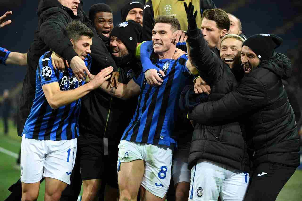 Atalanta sorteggio Champions League