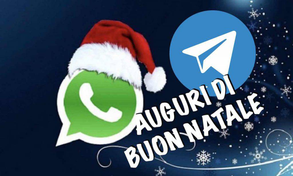 Auguri di Natale Whatsapp Telegram