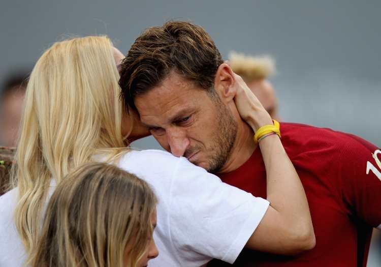 Francesco Totti, smentita la crisi coniugale con Ilary Blasi