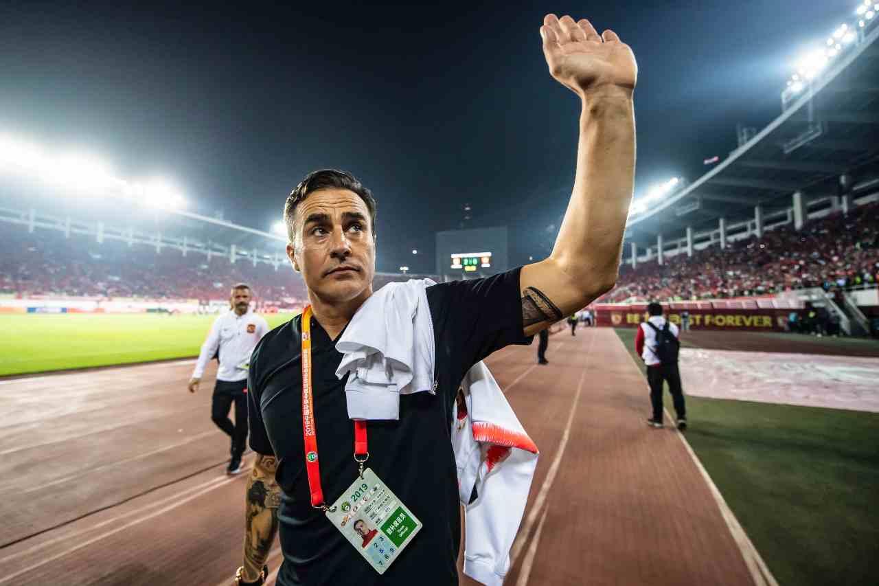 Cannavaro Guangzhou campione Cina