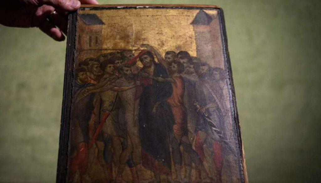 Cimabue Cristo deriso Francia