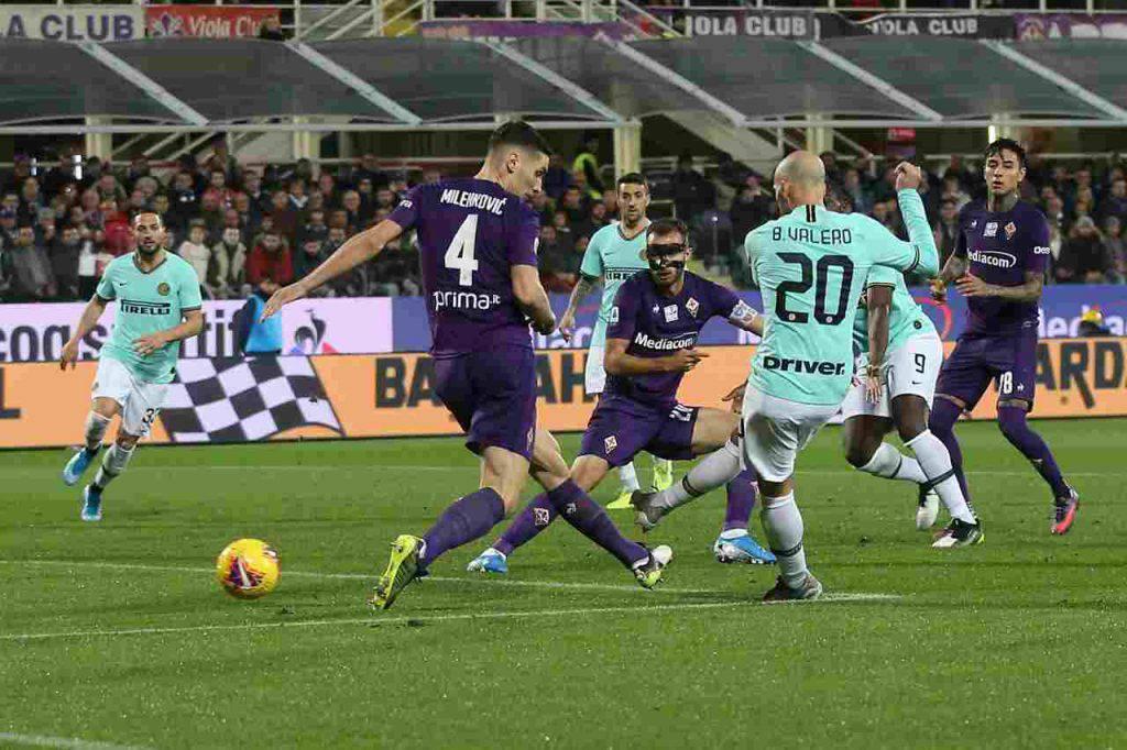 Borja Valero Inter Fiorentina