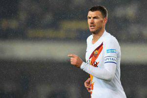 Inter Roma streaming Dzeko