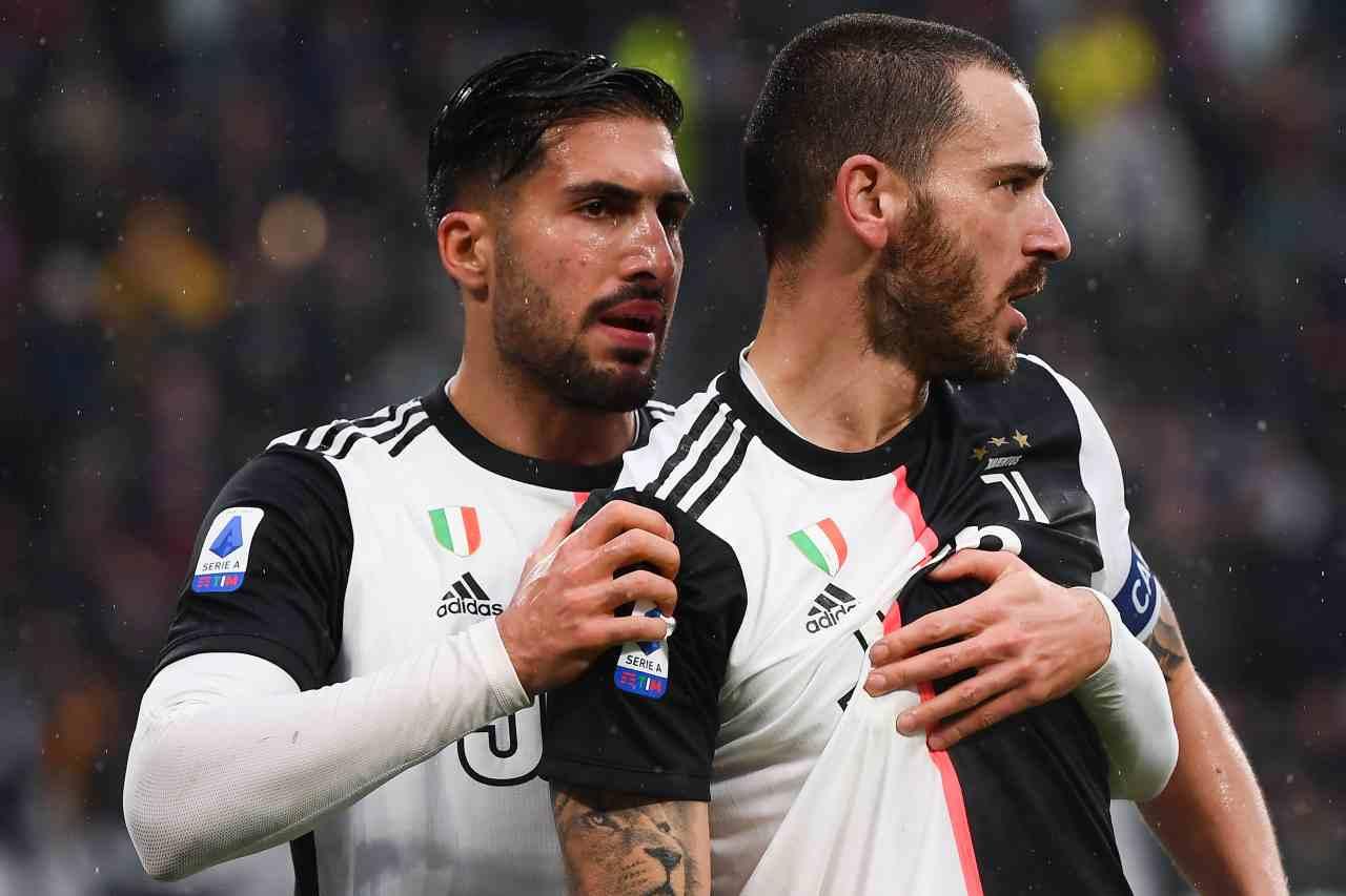 Emre Can Paredes scambio Juventus