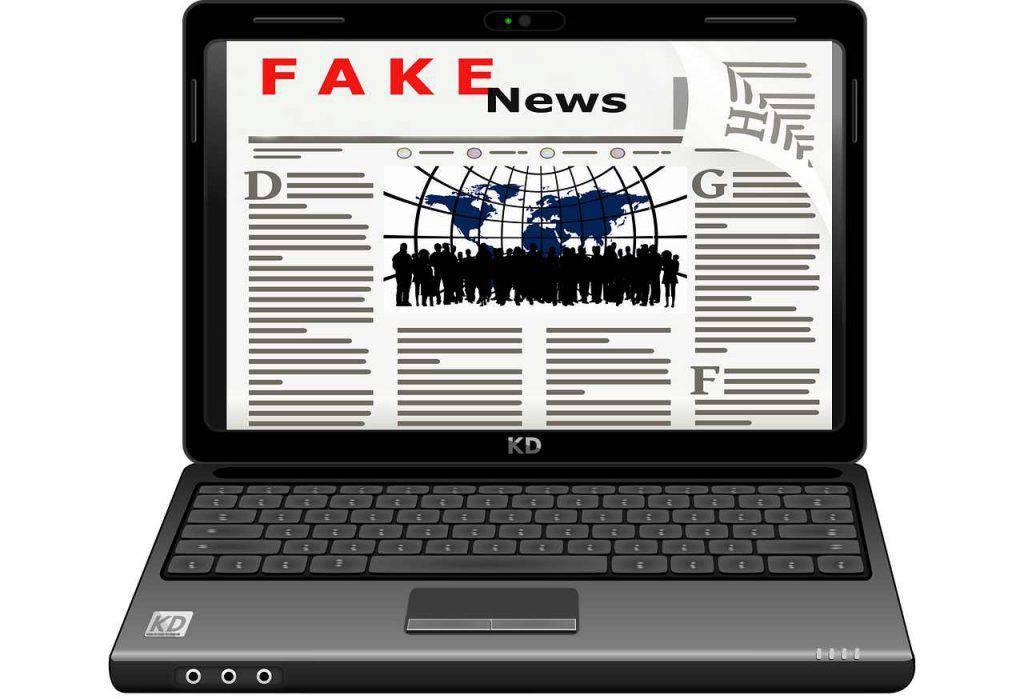 Fake news salute 2019