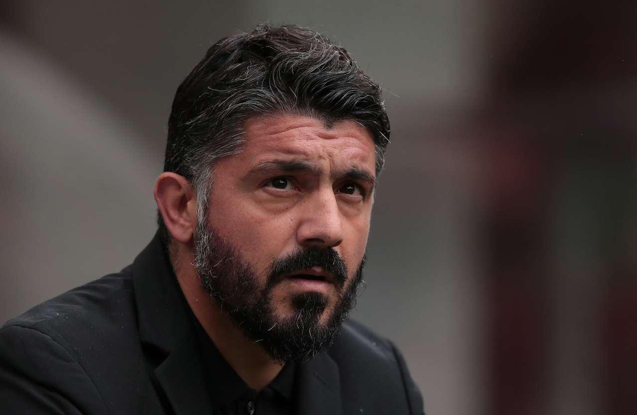 Gattuso ufficiale Napoli conferenza