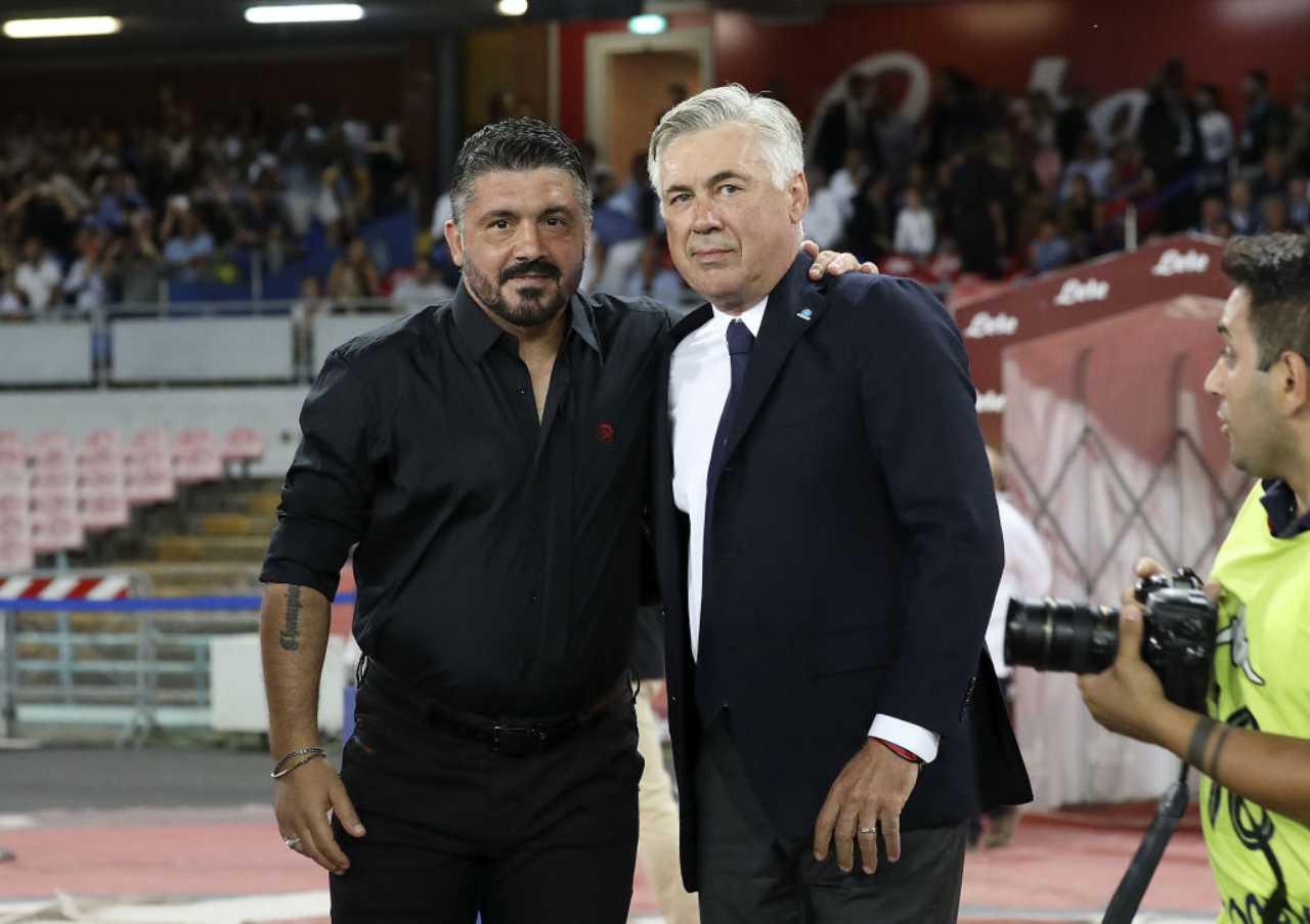 Gattuso-Napoli: tutto pronto