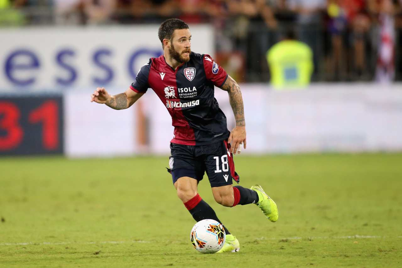 Sampdoria-Cagliari streaming, Nandez