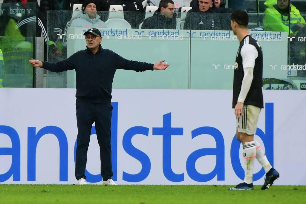 Maurizio Sarri Juventus Sampdoria tridente