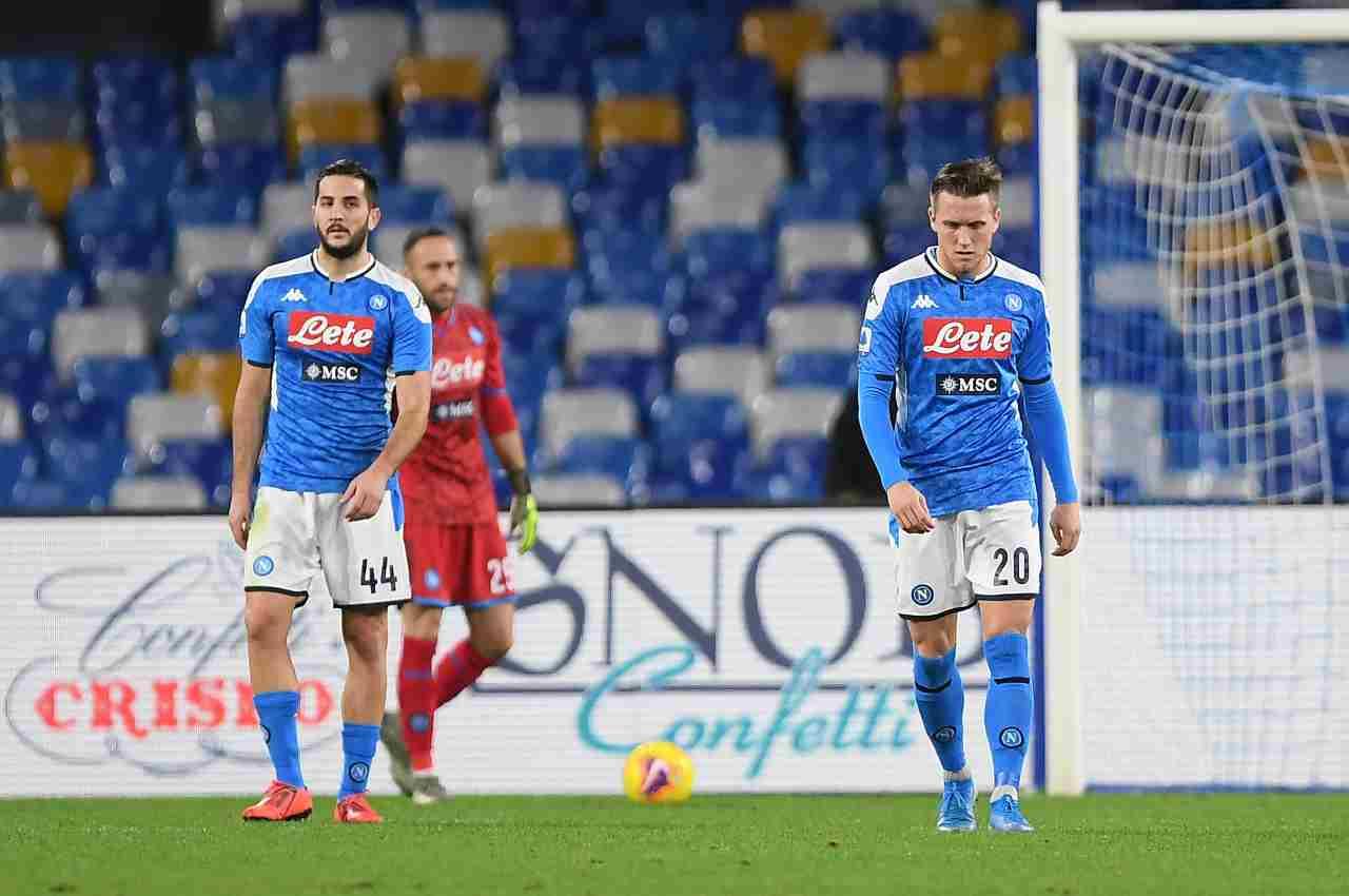 Napoli-Bologna highlights. pagelle e tabellino