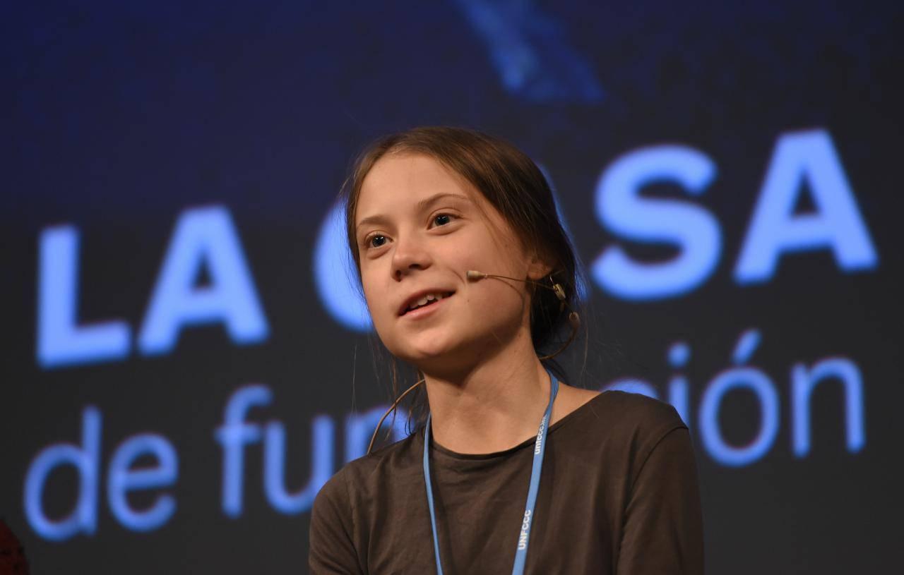 Greta Thunberg Madrid Cop 25