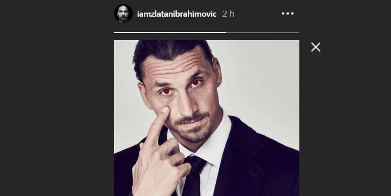 Ibrahimovic Milan Instagram