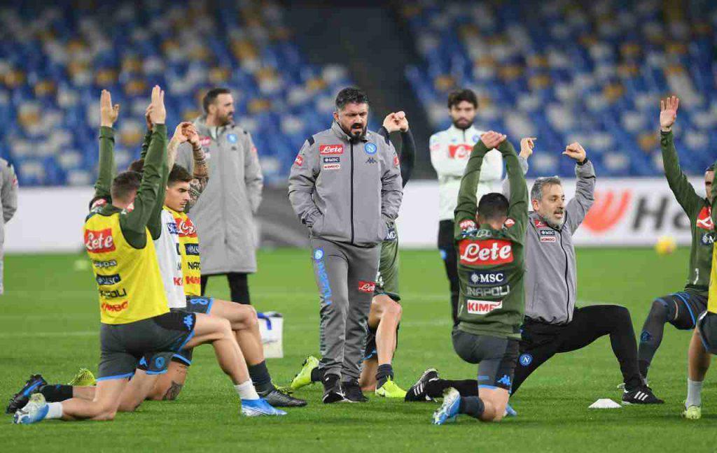 Napoli Gennaro Gattuso Serie A