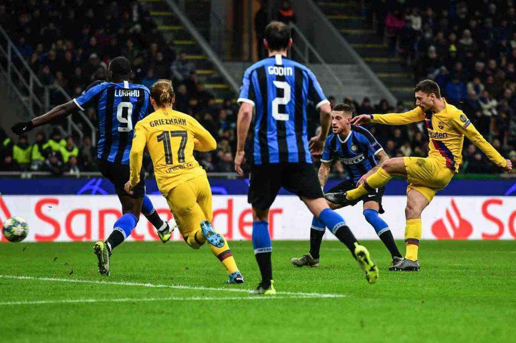 Inter-Barcellona voti highlights