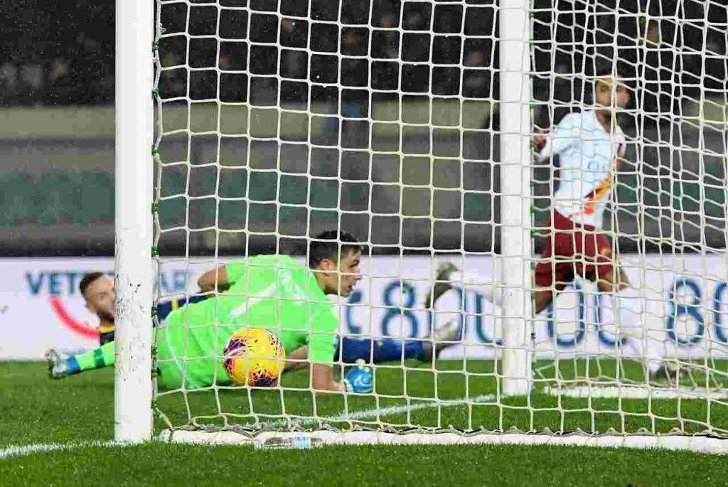 Roma Kluivert gol Verona
