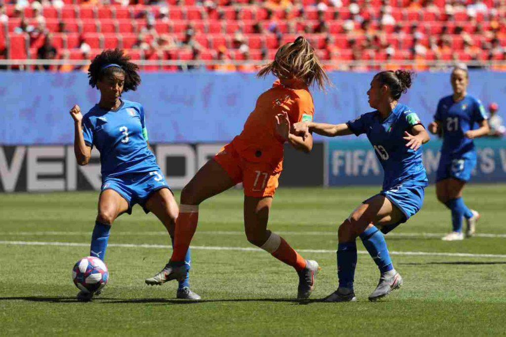 Nazionale femminile calcio