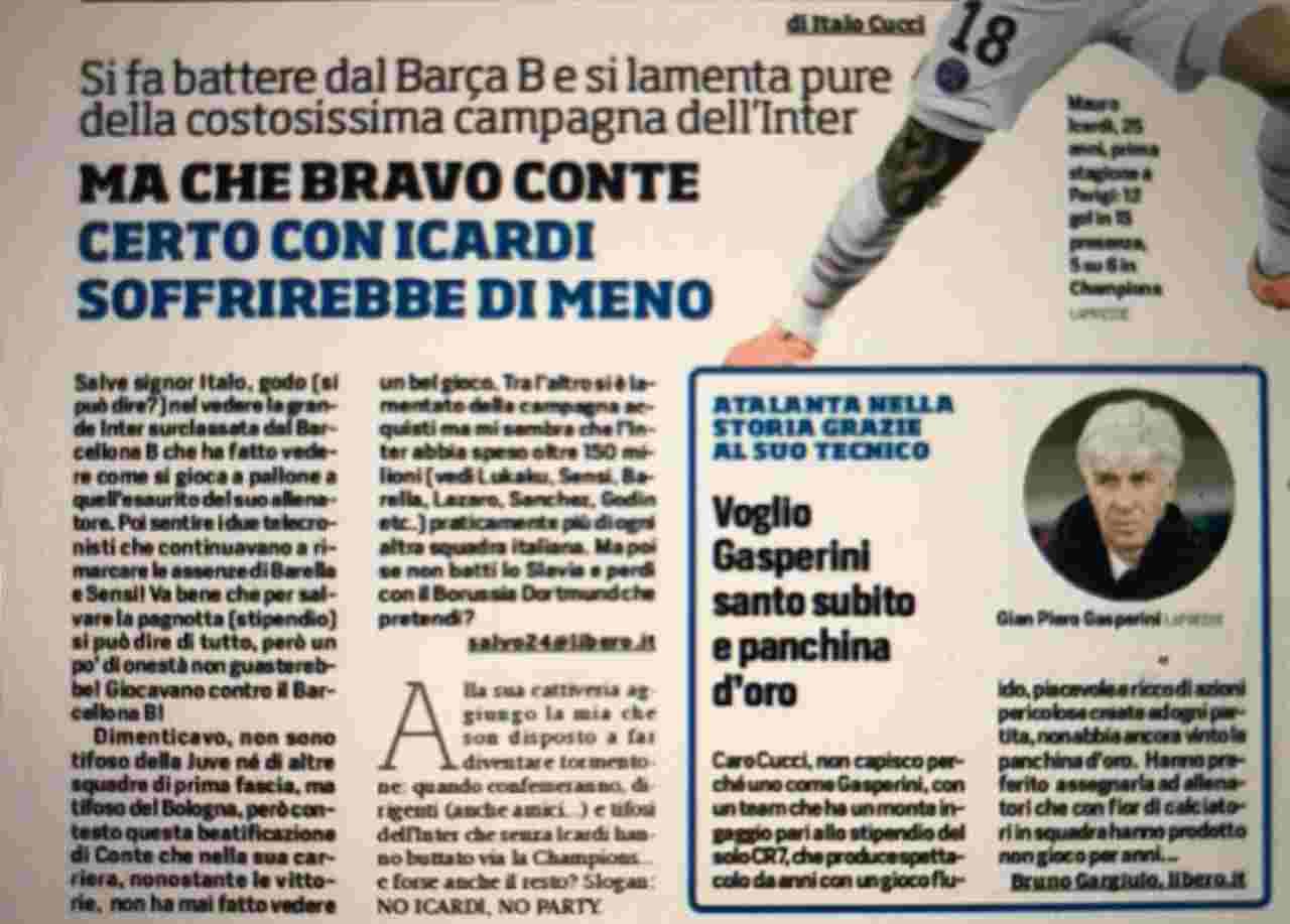 Corriere Dello Sport Che Figura La Mail Anti Inter E Falsa Foto