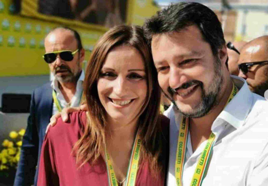 Lucia Borgonzoni Matteo Salvini Bolgna