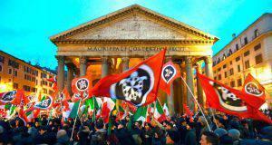 Manifestazione CasaPound