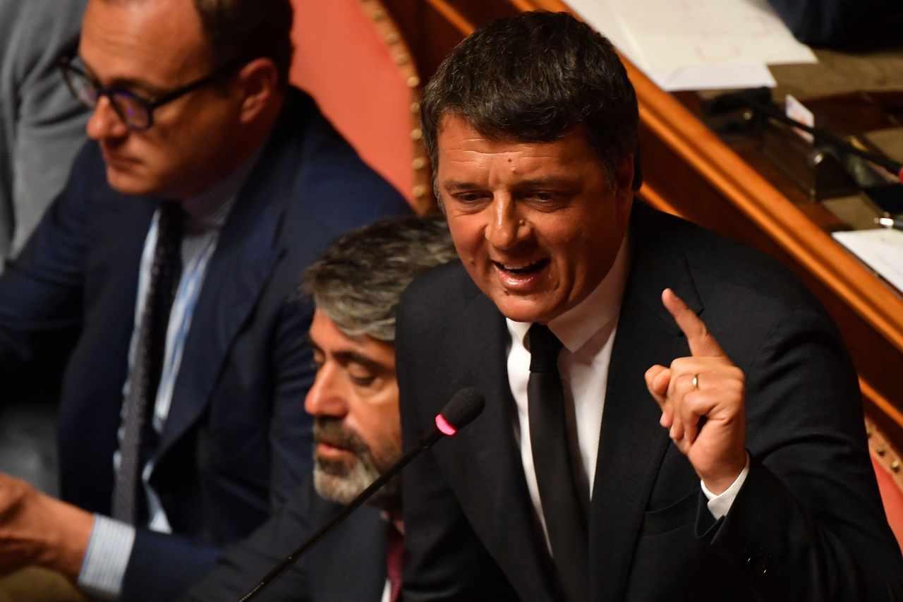 Renzi contro Grillo