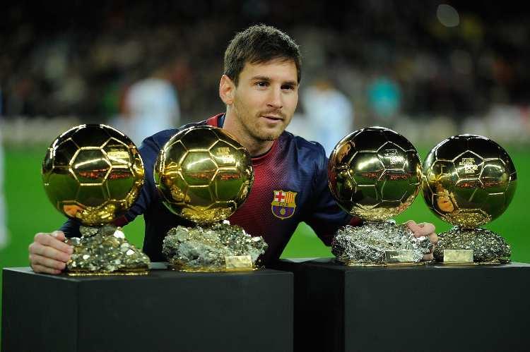 Pallone d'oro Messi