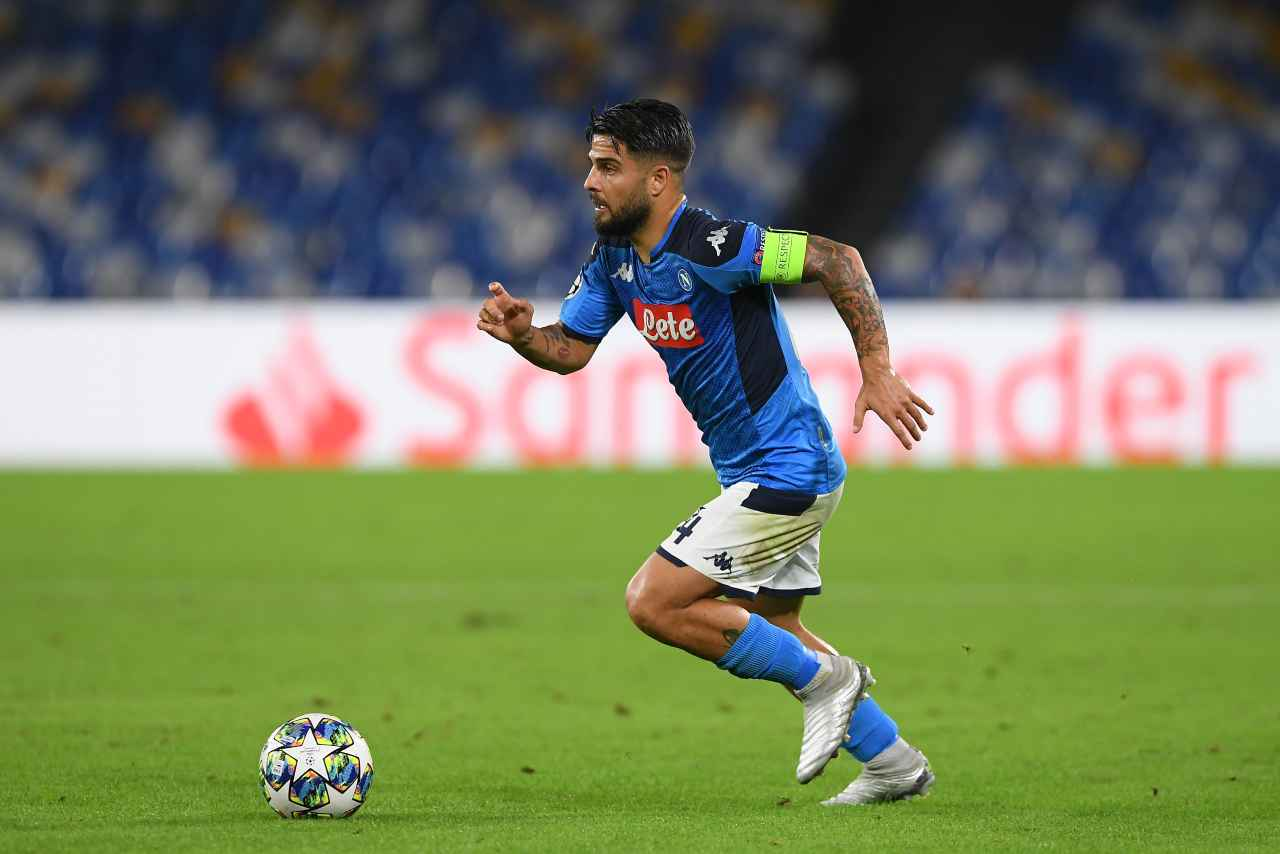 Napoli-Bologna streaming, Insigne