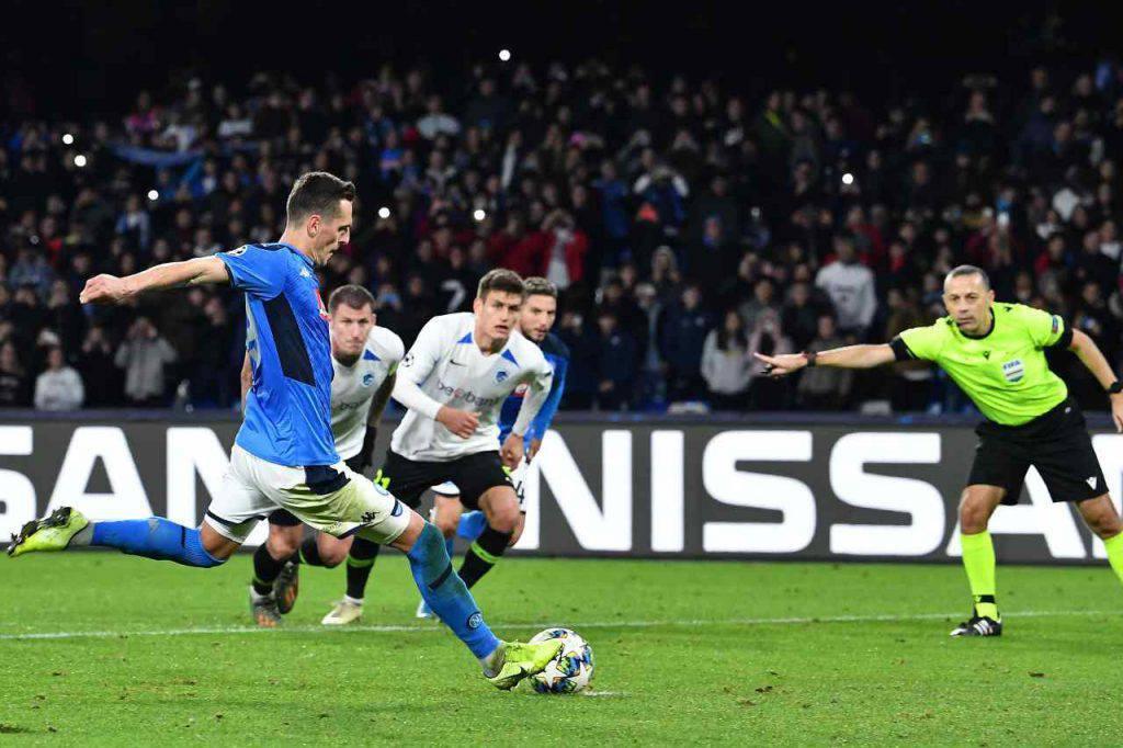 Napoli-Genk voti highlights