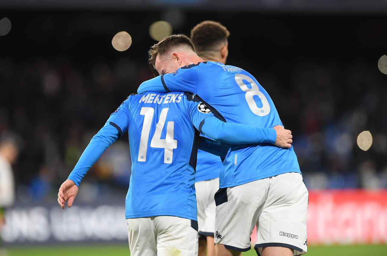 Napoli sorteggio Champions League