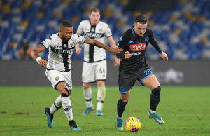 Napoli-Parma highlights voti